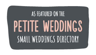 As featured on Petite Weddings