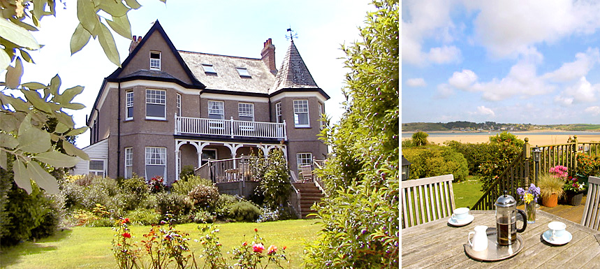 Treverbyn House bed and breakfast Padstow Cornwall