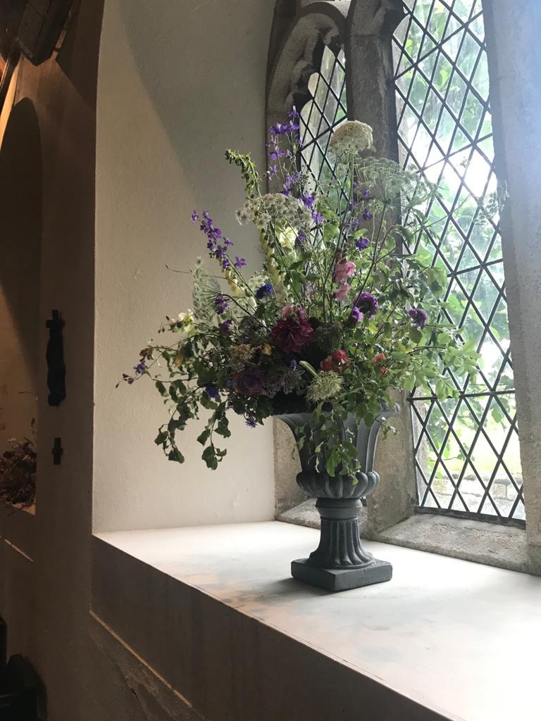 Church Flowers St Newlyn East