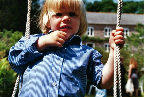 Joss on swing 2