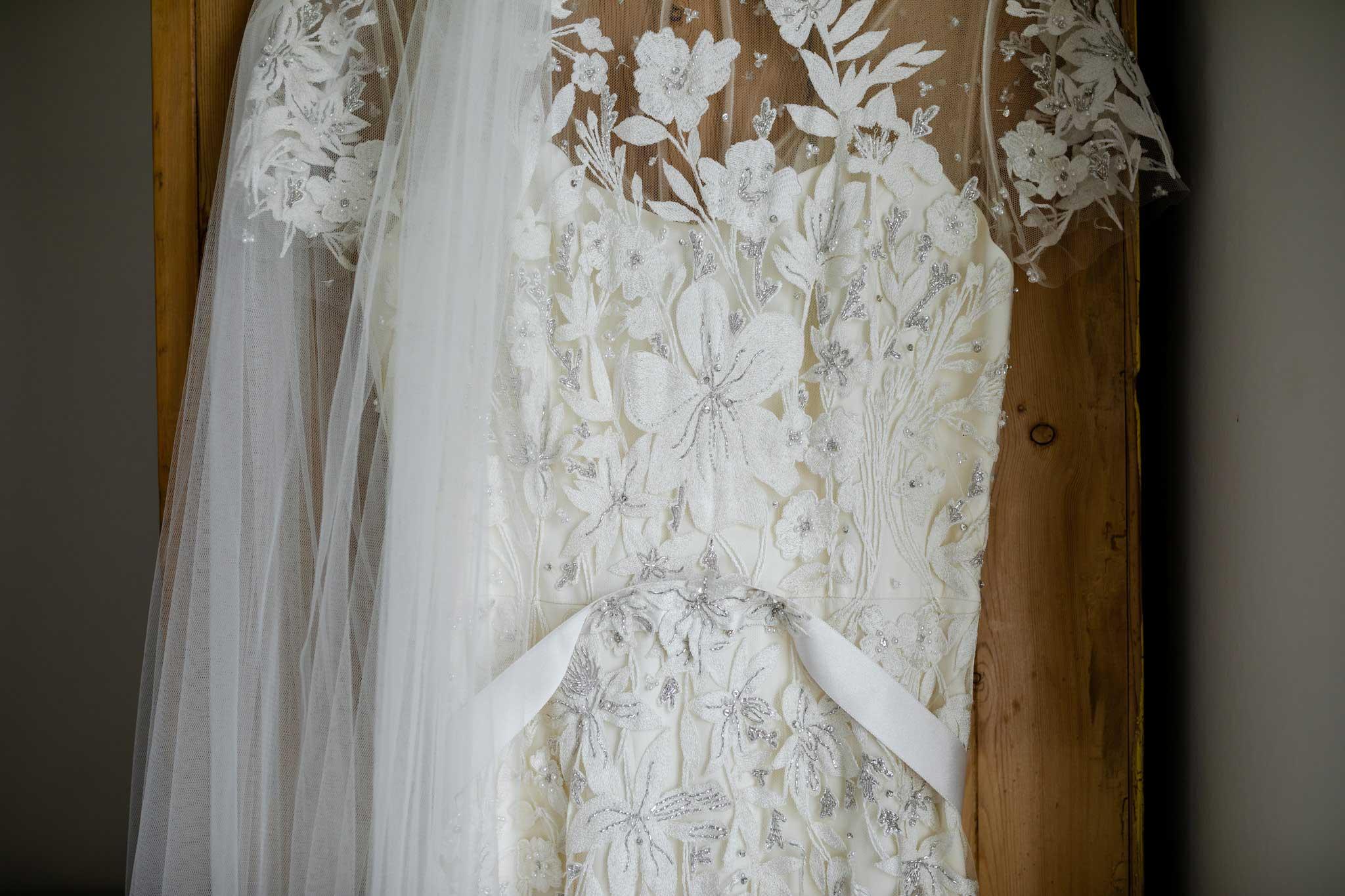 Jenny Packham lace wedding dress