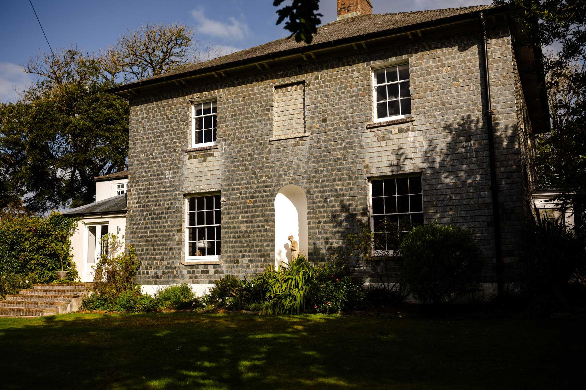 Slate hung Georgian house in Cornwall
