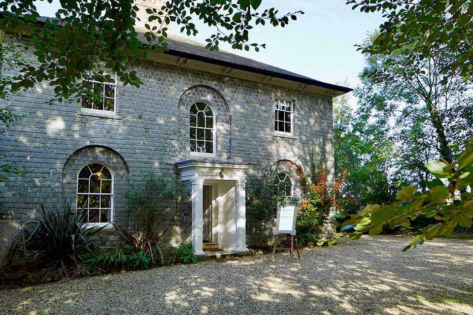 Georgian house intimate wedding venue in Cornwall