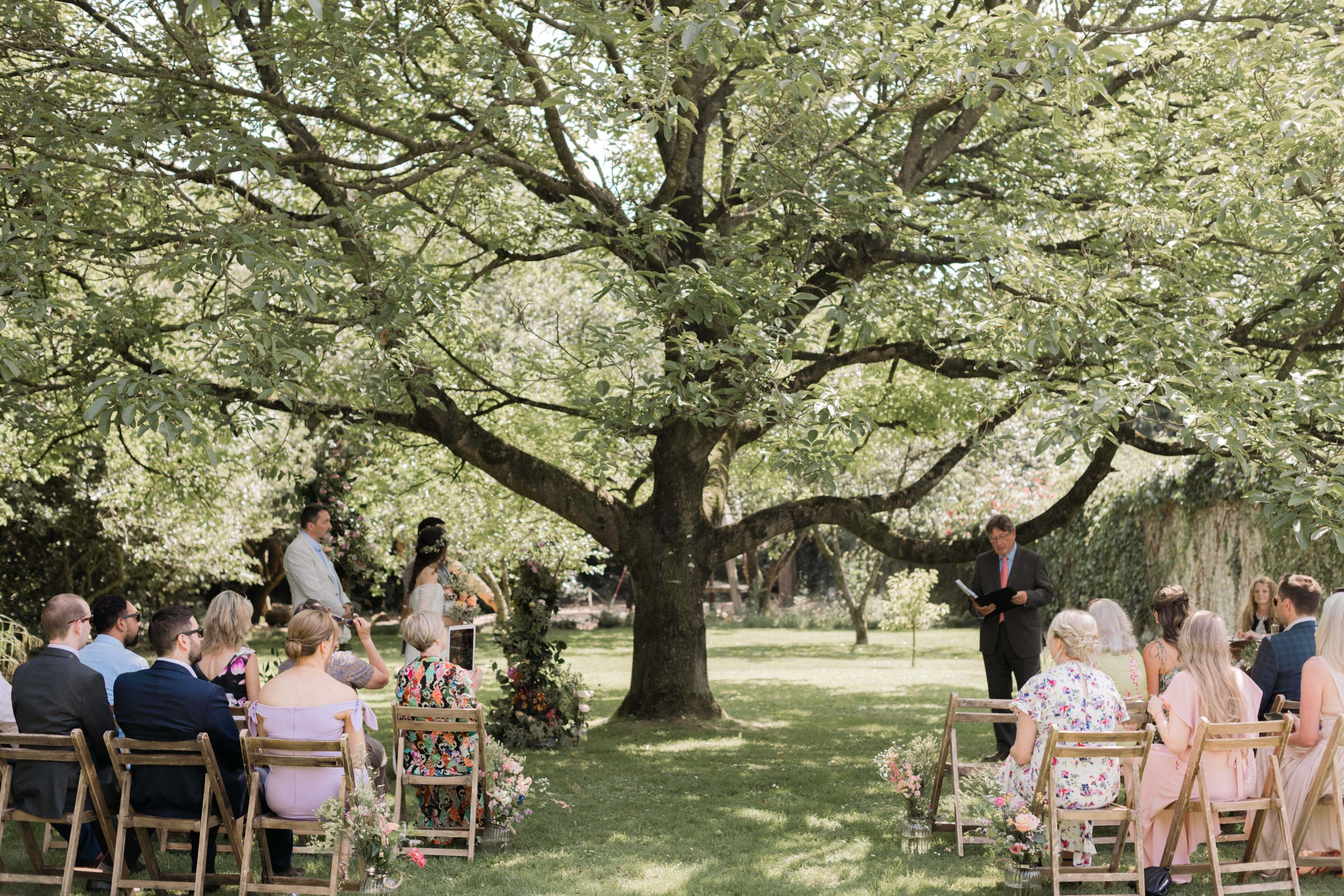 ceremony under the walnut tree