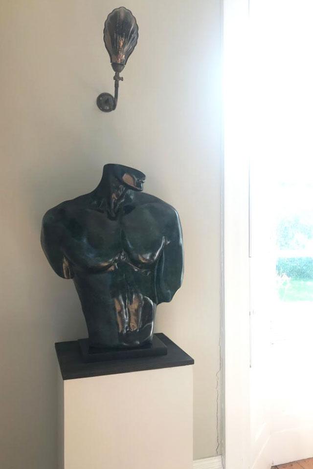 Mark Foster bust sculpture