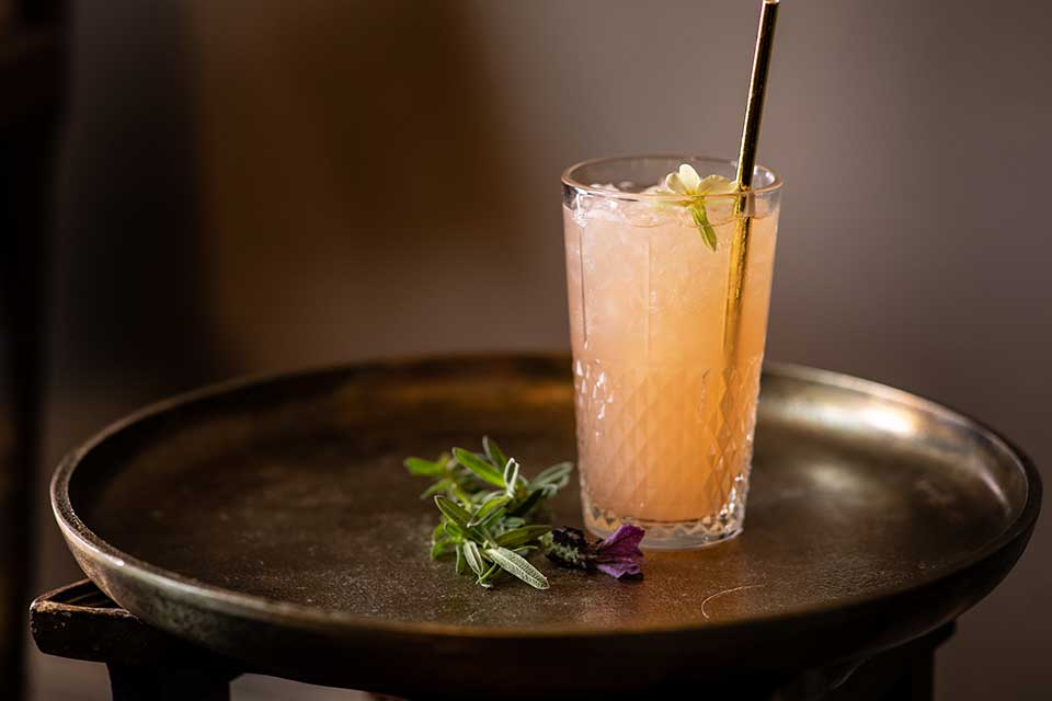 Charleston Fizz cocktail