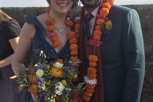 colourful indian wedding ceremony