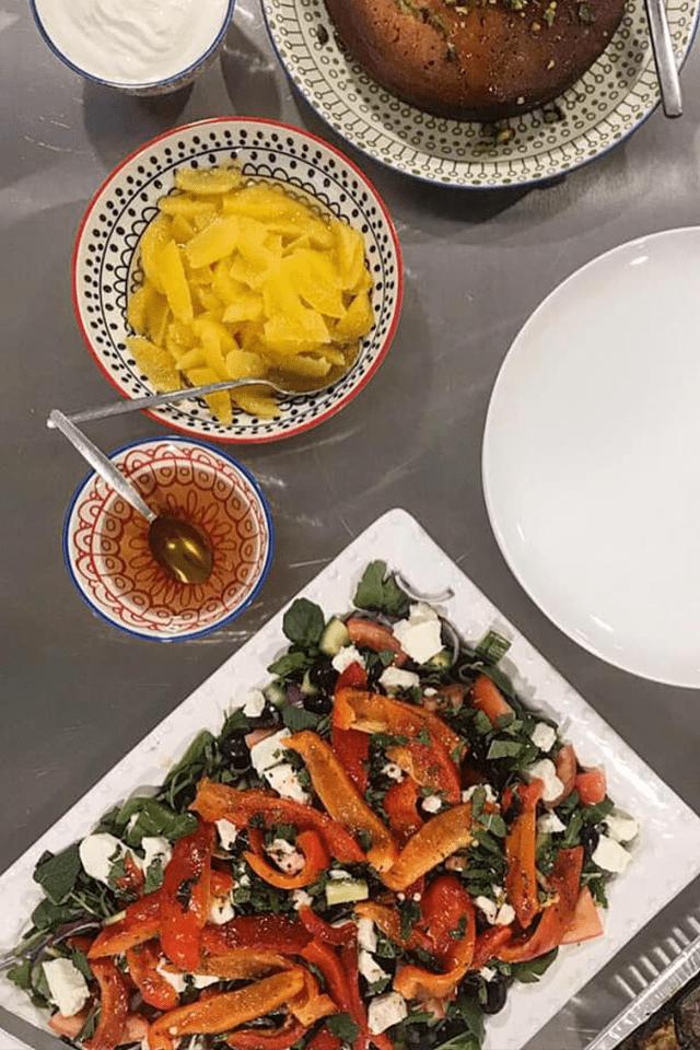 cookery class recipe