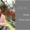 Treseren meet the team Charlie Events Assistant