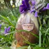 Trenance chocolate Easter egg in Treseren gardens