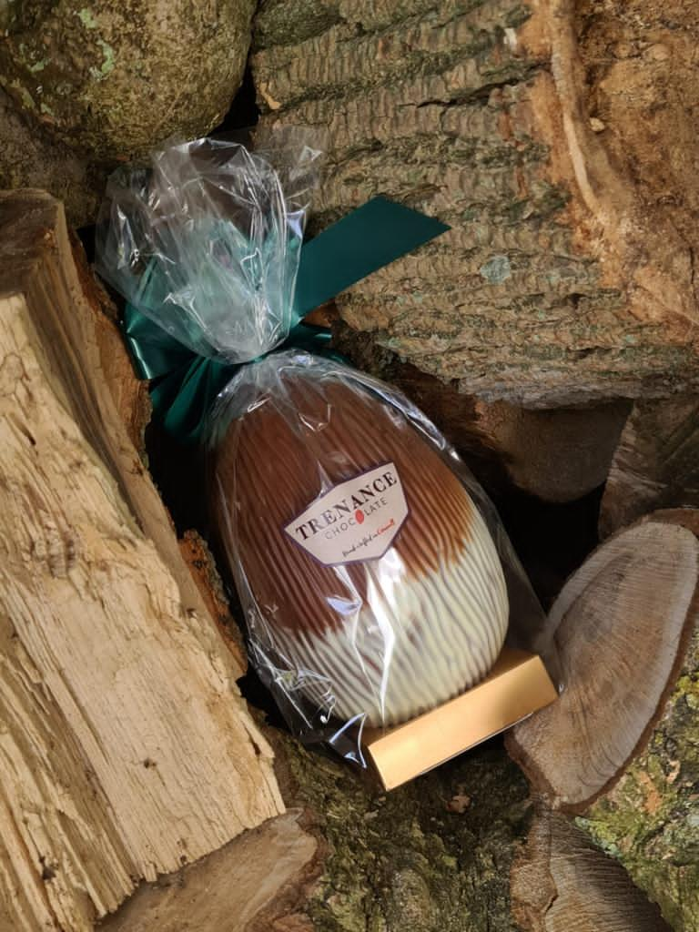 handmade chocolate egg hunt