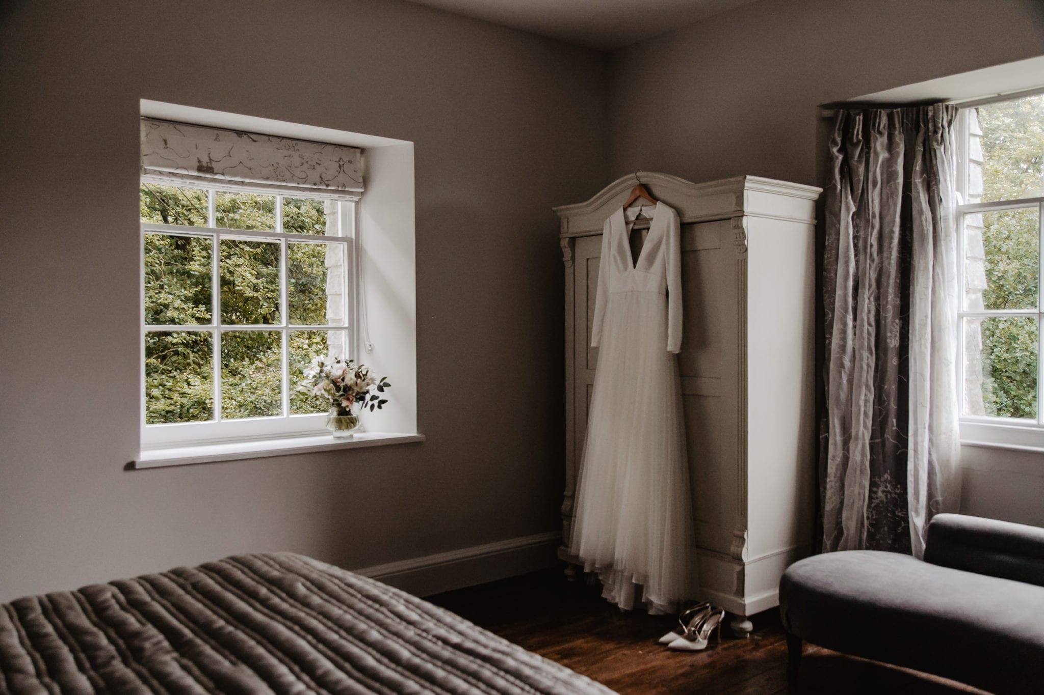 The elegant master bedroom of Shepherds House