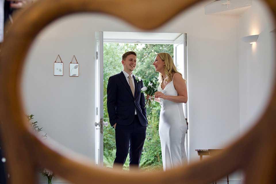 Valentine's Day Wedding Inspiration wedding ceremony