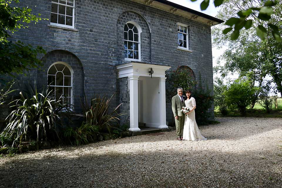 Georgian country house small wedding venue in Cornwall