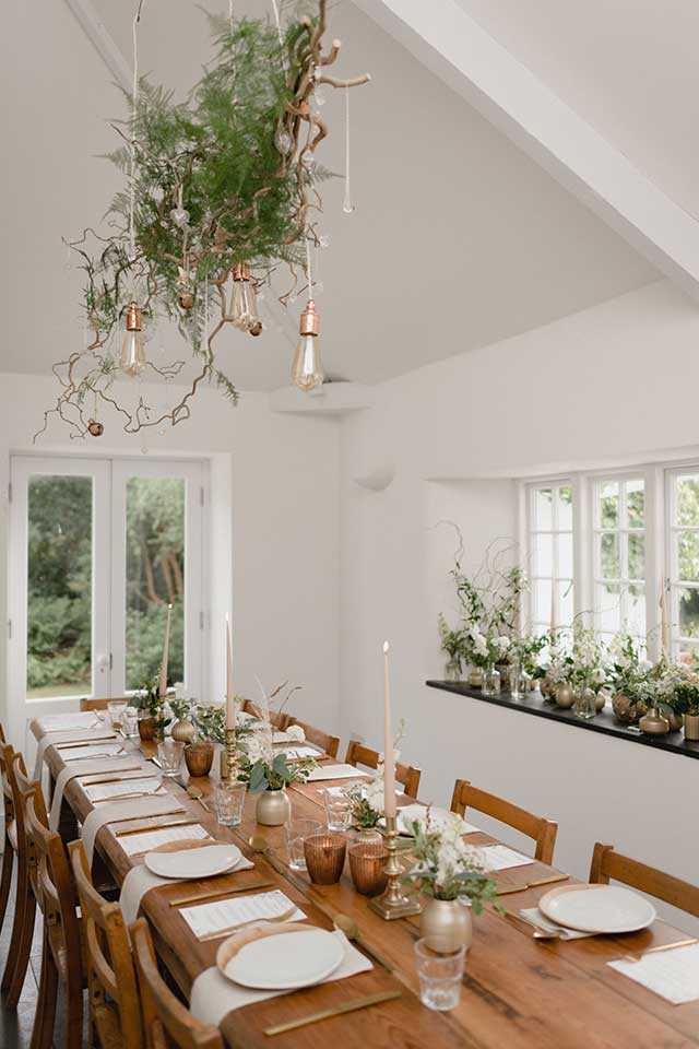banquet seating for small wedding
